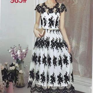 butik dress murah online jual dress sifon murah