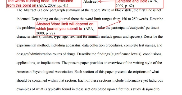 apa snippets and style writing pointers