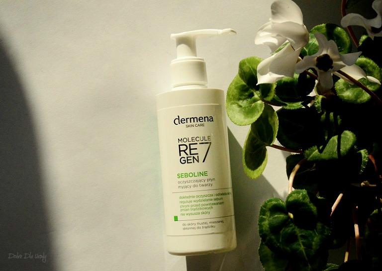 Seboline Oczyszczający płyn myjący do twarzy recenzja