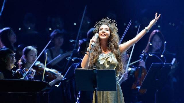 Sarah Brightman se presenta este fin de semana en el Teatro Colón