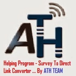 [Requested Files] - Survey To Direct Link Converter - November 2013 Report | By ATH Team