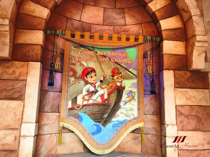 arabian coast sindbad storybook voyage review