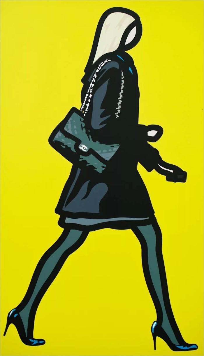 Британский художник. Julian Opie