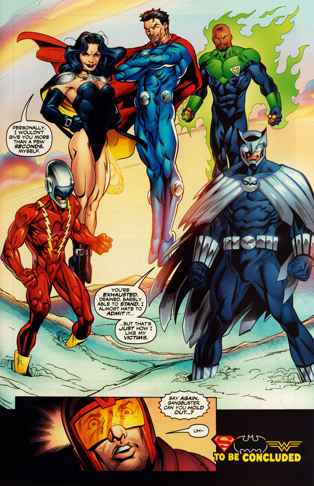 Read online Trinity (2008) comic -  Issue #51 - 28