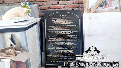 Prasasti Granit, Papan Nama Granit, Marmer Tulungagung
