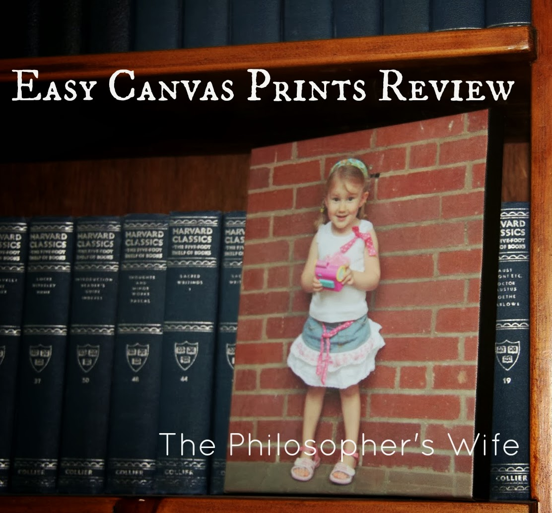 The Philosopher's Wife: Easy Canvas Prints Review