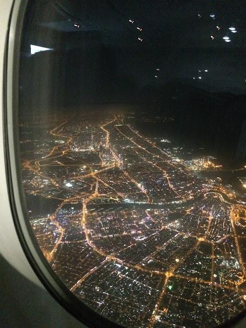 DUBAI BY NIGHT AVION