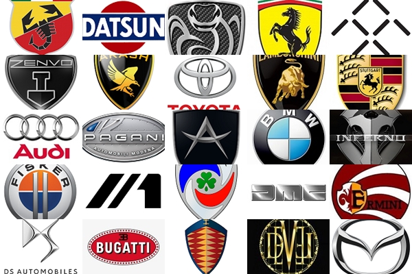 Marcas de autos y Logos Marcas de autos