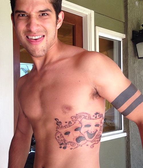 Tyler Posey Tattoos 2019