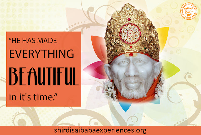 Shirdi Sai Baba Blessed With Job - Experience of Chitra
