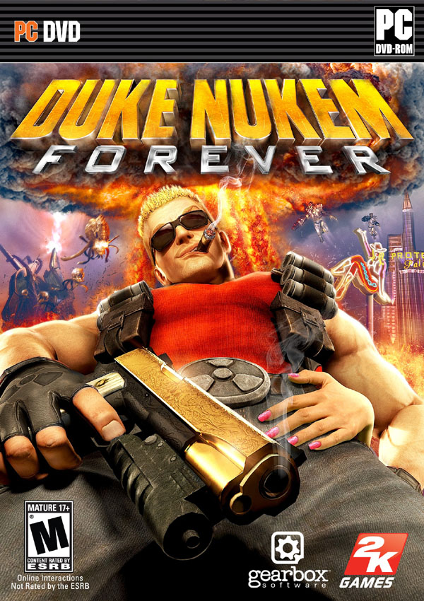 Duke Nukem Forever Download Cover Free Game