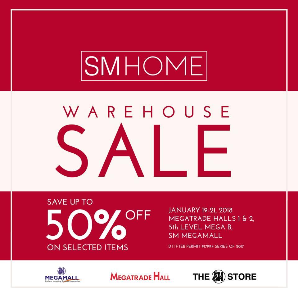 Manila Shopper Sm Home Warehouse Sale Jan 2018 # Muebles Megamall
