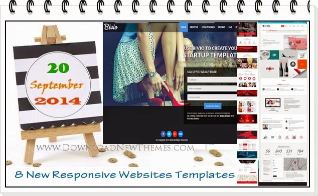 Free Responsive Websites Templates