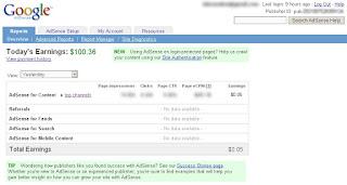 Trik Membuat Earning/Penghasilan Google Adsense