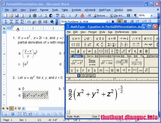 Download MathType 7.3 Full Key – Phần mềm soạn thảo công thức toán học