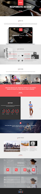 WP Parallax Theme