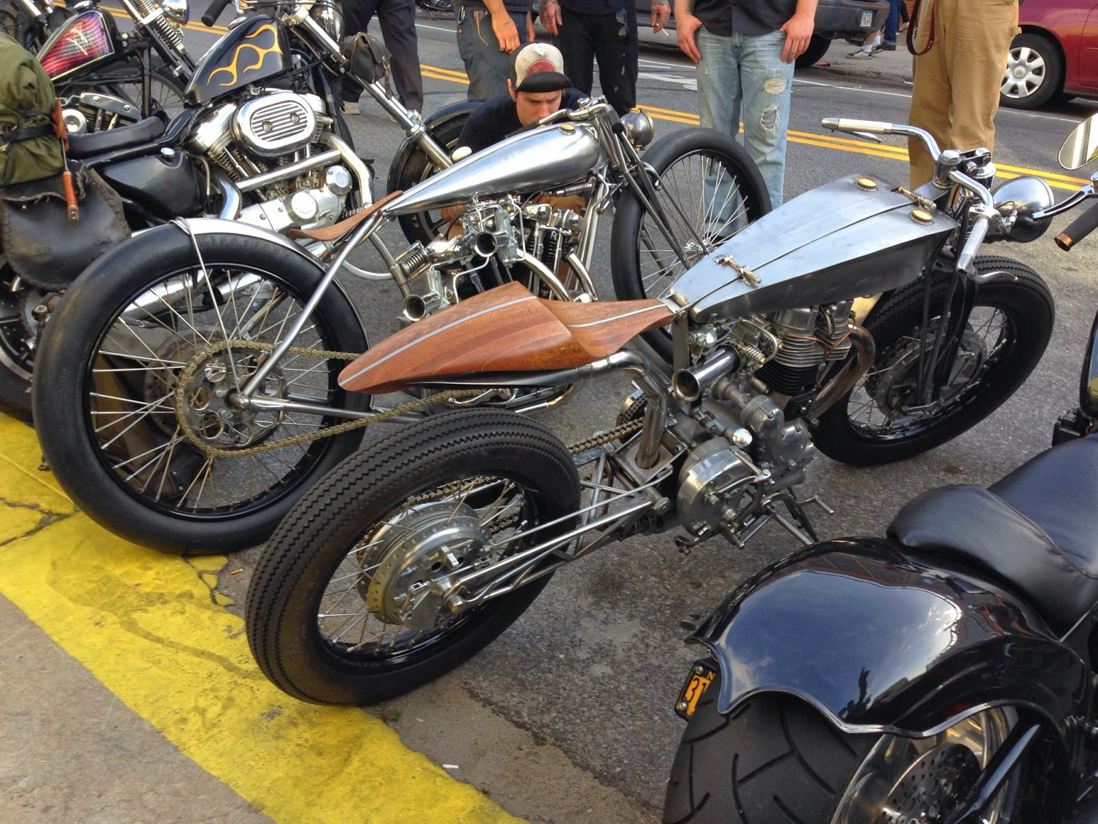 Incredible Retro Custom Cafe Racers at the Brooklyn Invitational Custom Bike Show 2013 5