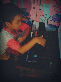 my child again to learn typing
