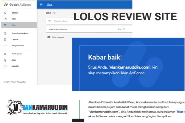 Jasa Review site Adsense Gratis