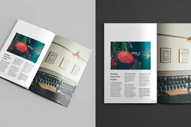 Magazine Mockups Free PSD