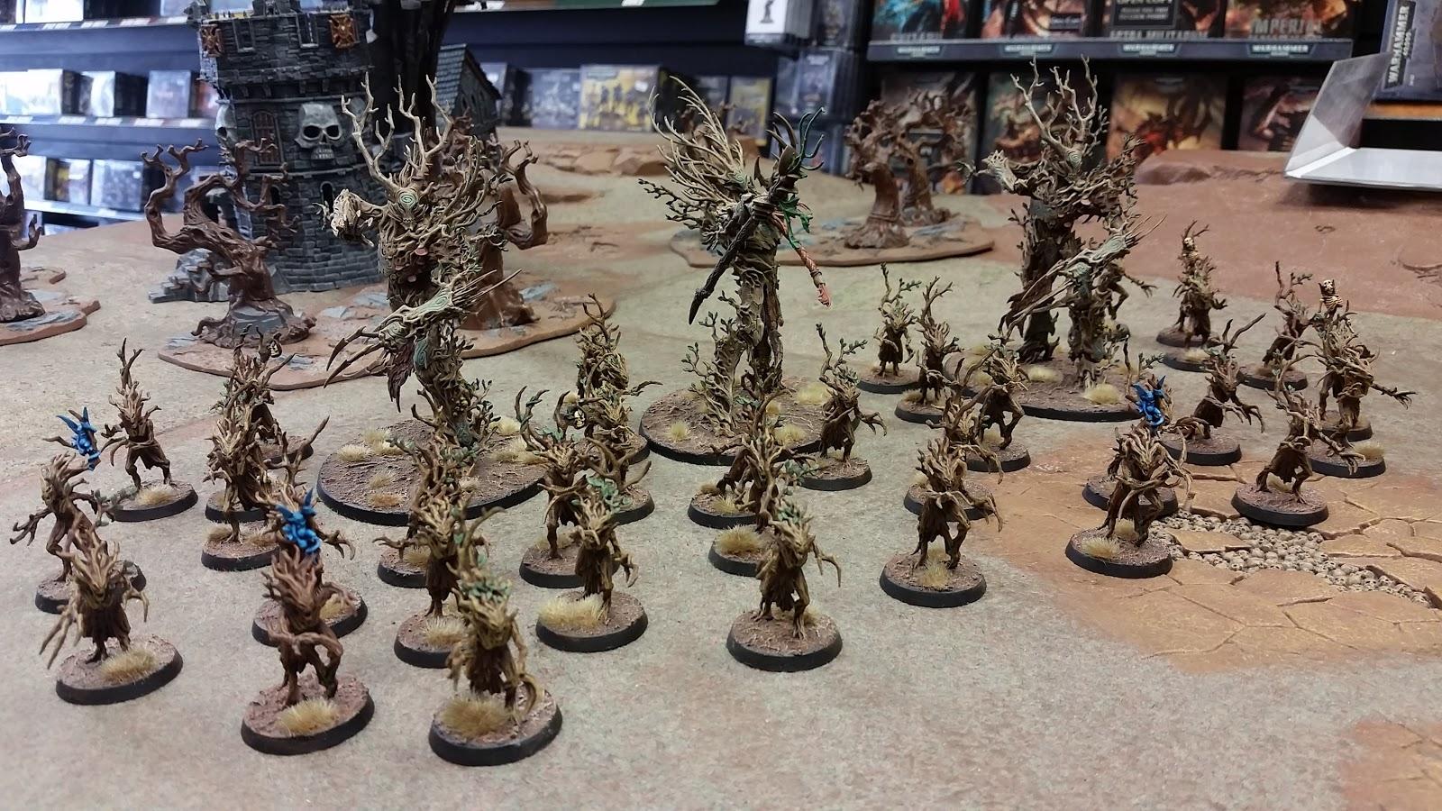 Hobby from the Aett: Sylvaneth Army showcase