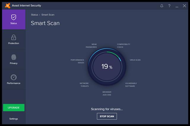 تحميل برنامج الحماية من الفيروسات والبرامج الضارة وملفات التجسس Avast Internet Security للويندوز