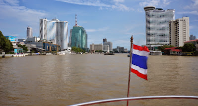Taking the boat back to Sathorn pier