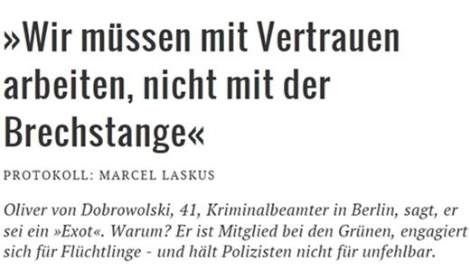 """Oliver von Dobrowolski: """"Wir müssen mit Vertrauen arbeiten, nicht mit der Brechstange"""""""