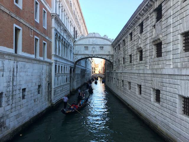 Puente Suspiros Venecia