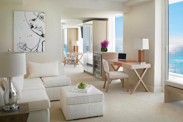 Hotel com dois quartos juntos em Miami