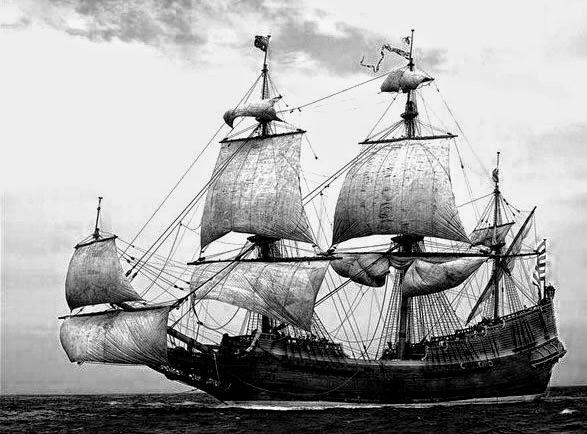 Gambar Alat transportasi air kuno dan modern