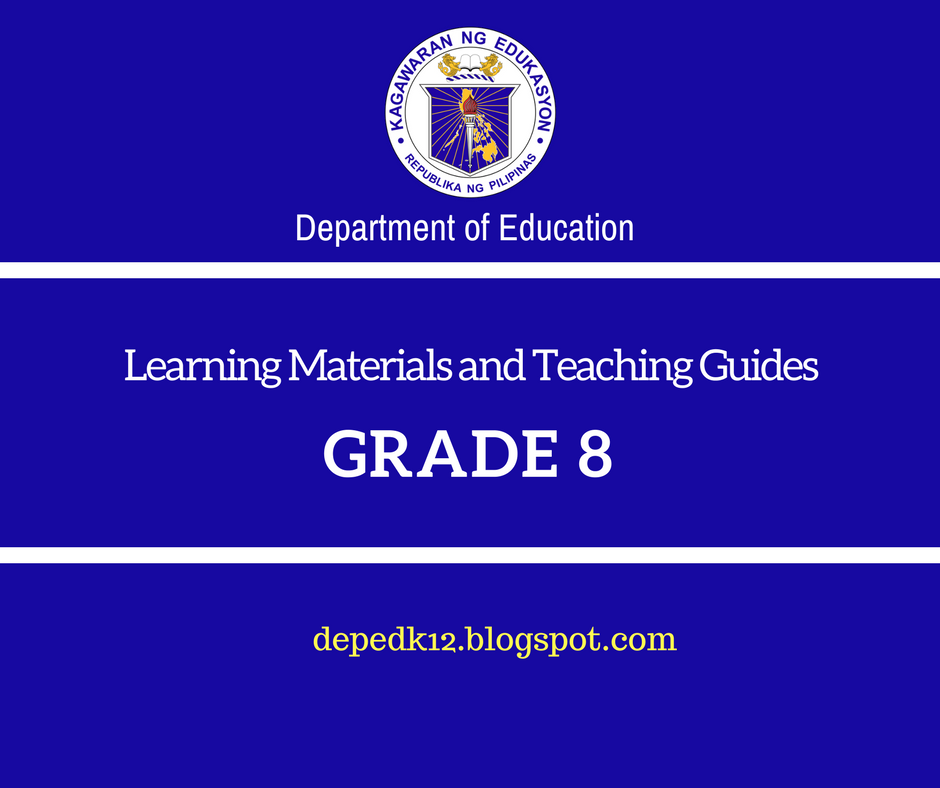 Grade 8 learning modules and teaching guides deped k 12 modules and teachers guide in araling panlipunan grade 8 patnubay ng fandeluxe Image collections