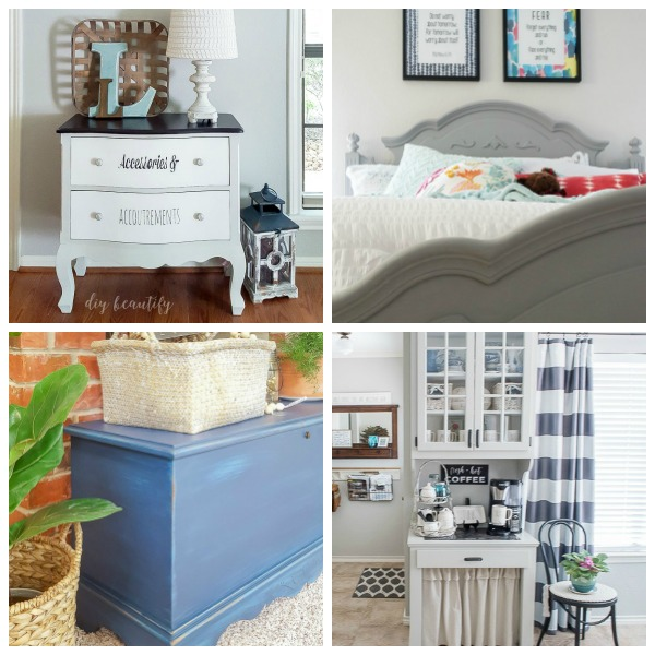 12 Chalky Paint Furniture Makeovers Diy Beautify Creating