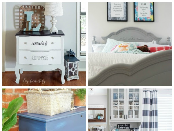 12 Chalky Paint Furniture Makeovers