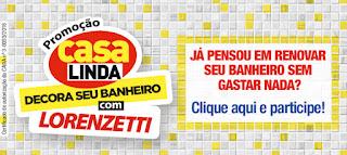 Promoção Revista Casa Linda