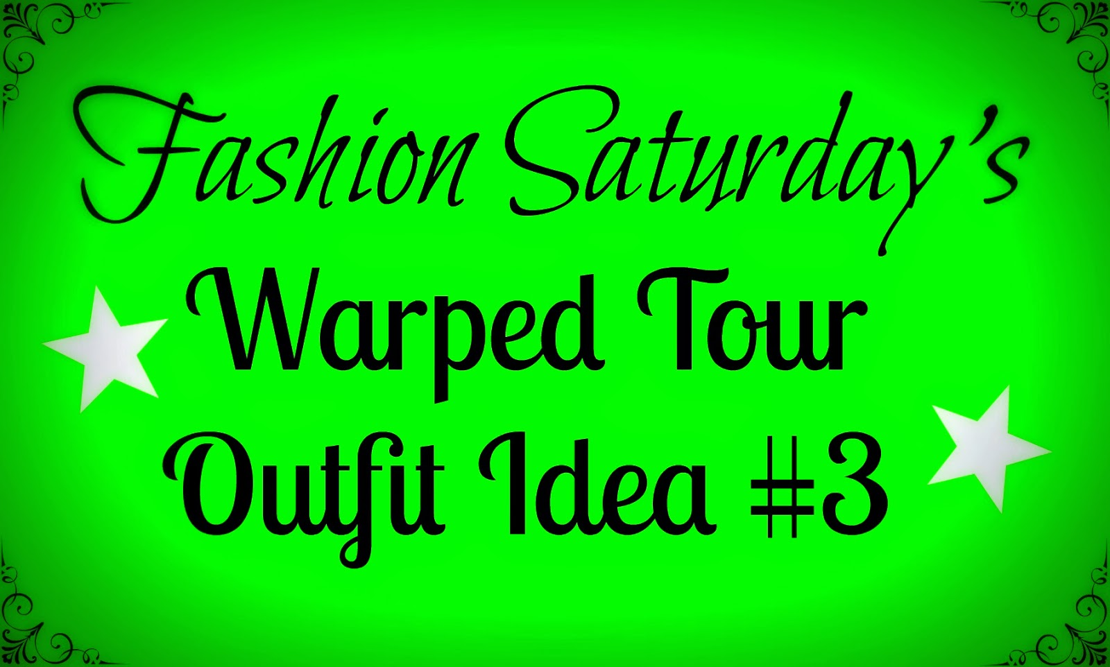 Fashion Saturday's Warped Tour Outfit Idea #3