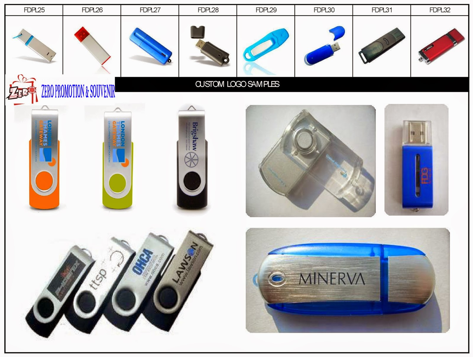 Jual Flash Disk Promosi