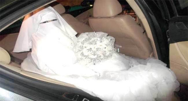 YOUNG SAUDI BRIDE DEMANDS CAR WITH HUSBAND