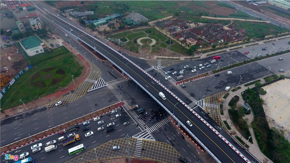 Vị trí đắc địa chung cư của Udic chân cầu Vĩnh Tuy