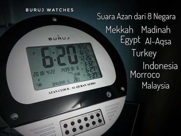 Feedback Pelanggan Jam Azan Digital Buruj Quran