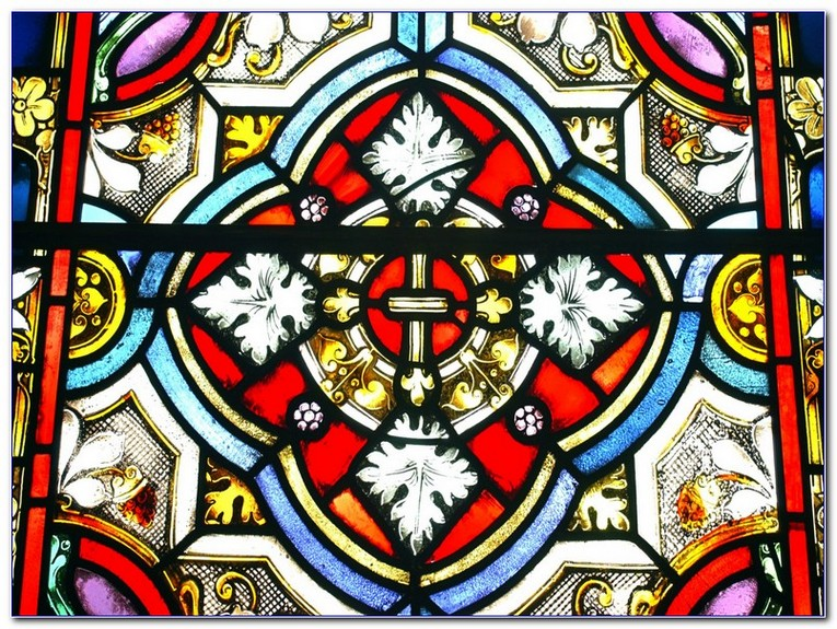 Stained Glass Window Patterns To Colour Home Car Window Glass Tint