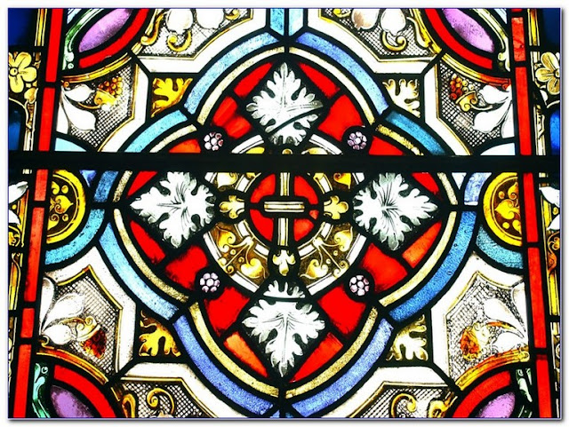Stained GLASS WINDOW Patterns To Colour ideas