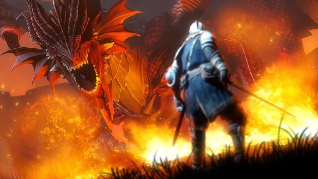papel de parede fantasia dragão para pc grátis