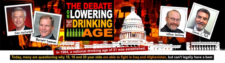 The drinking age in the united states should be lowered to eighteen