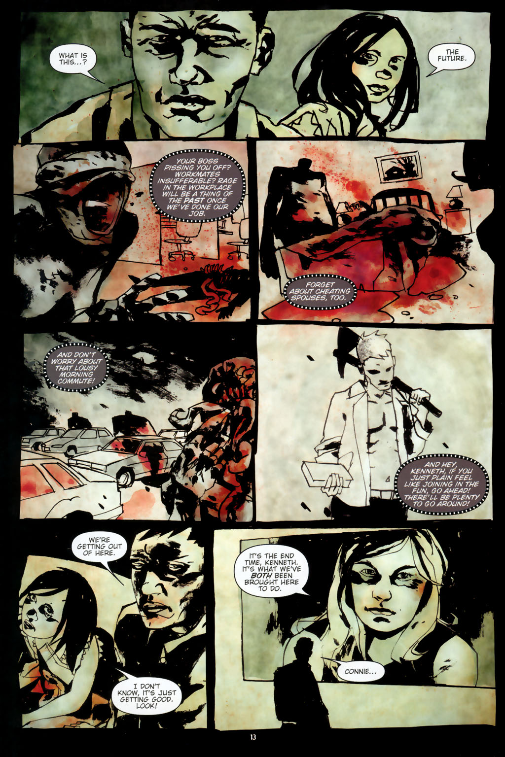 Read online Silent Hill: Dead/Alive comic -  Issue #2 - 15