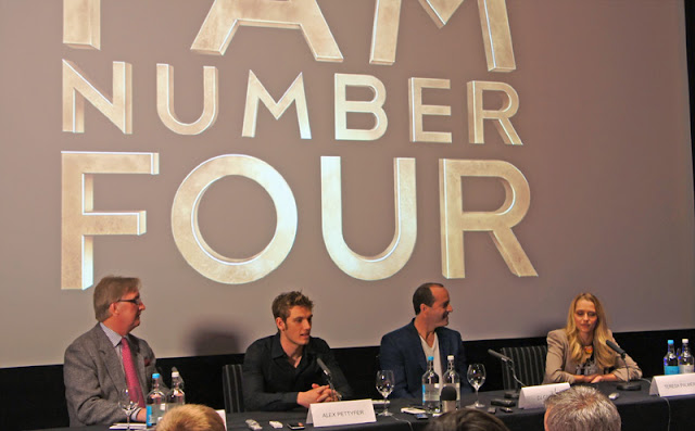 I am Number 4 Press Conference