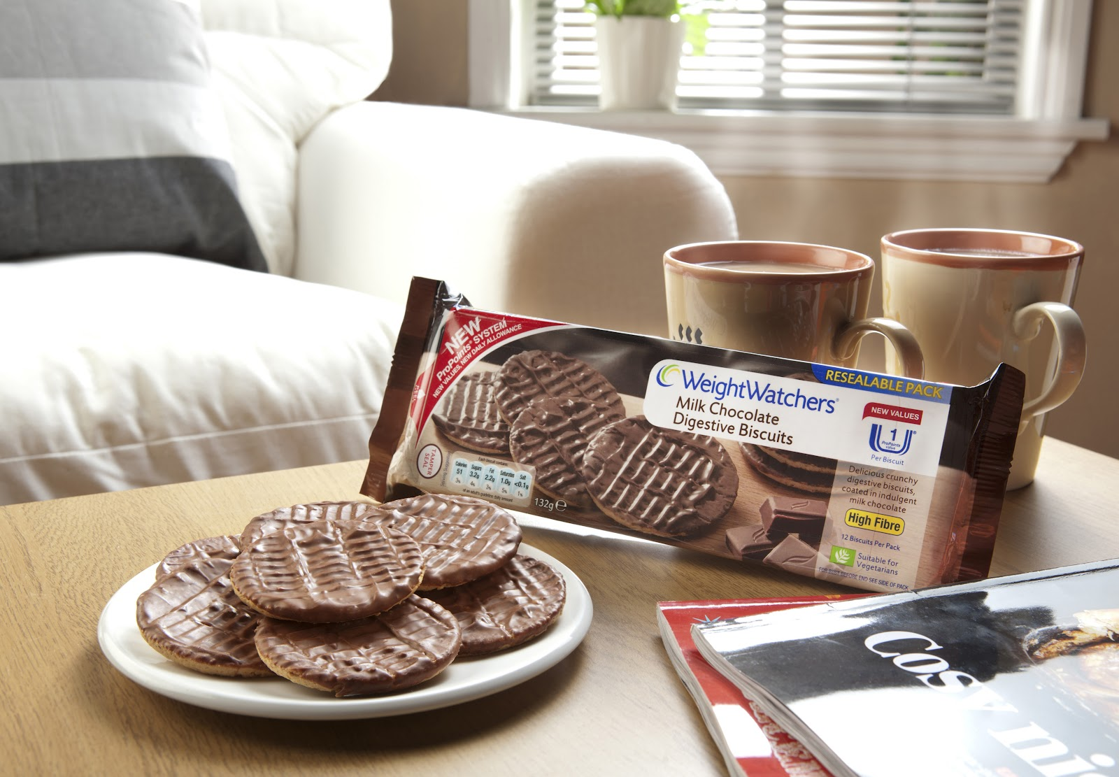 The World Of Chocolate Ww Milk Chocolate Digestive Biscuits