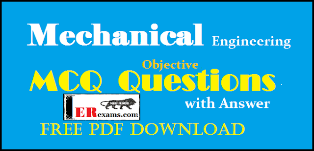 mechanical engineering objective questions mcq with answer free pdf