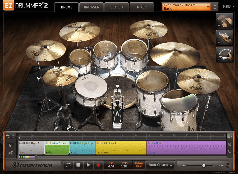 Toontrack - EZdrummer 2 v2.1.6 Full version FREE DOWNLOAD