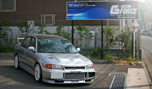 Mitsubishi lancer evolution iii gsr 39 95 garage g force for Garage mitsubishi 95